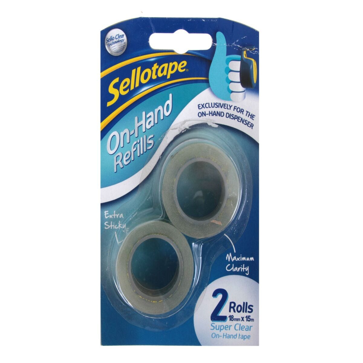 Sellotape On Hand 18mmx15m