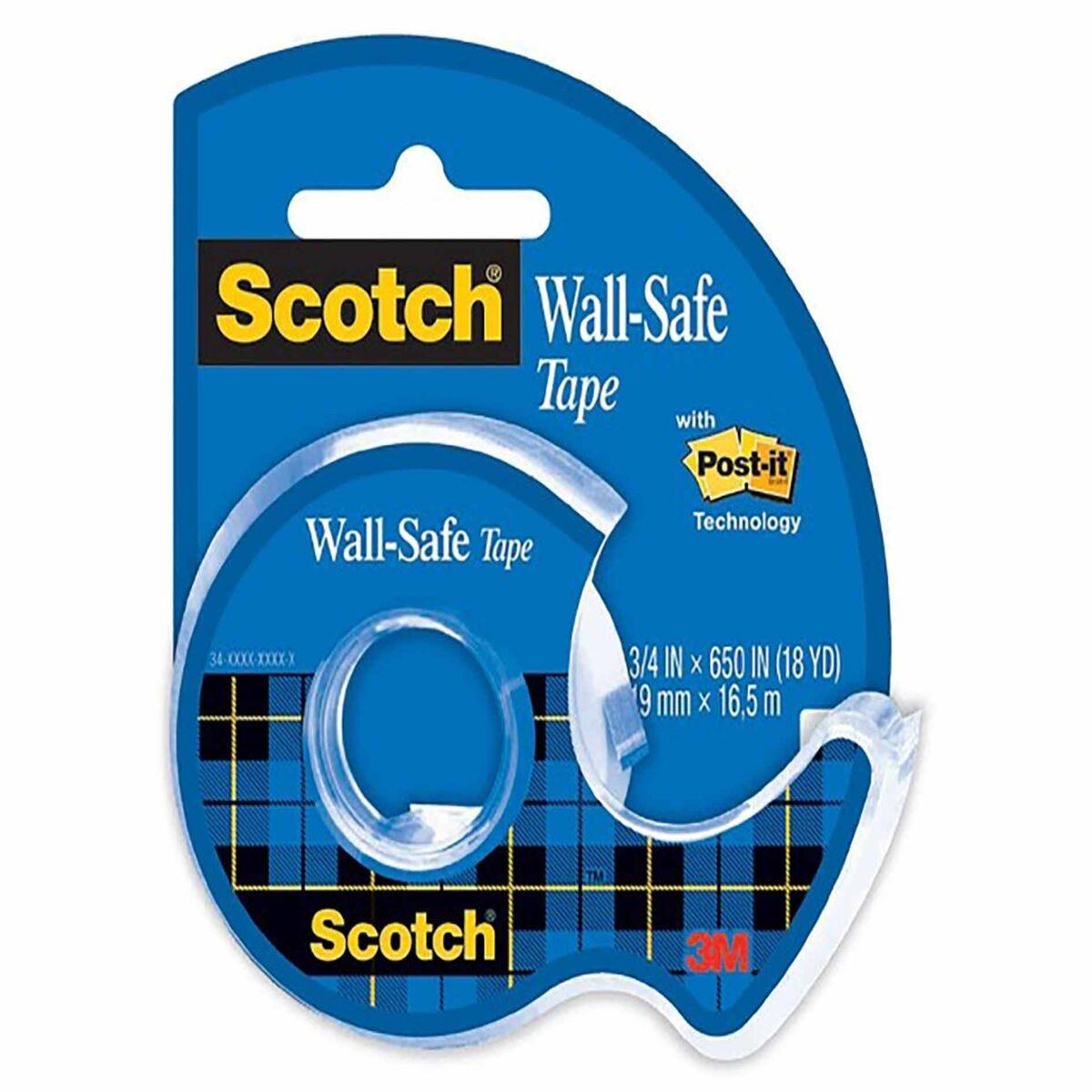 3M Scotch Wall-Safe Tape 19mm x 16.5m