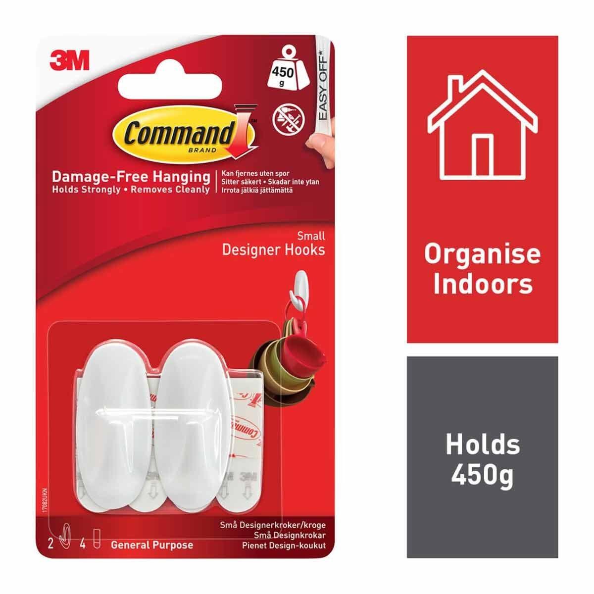 3M Command Small Hooks