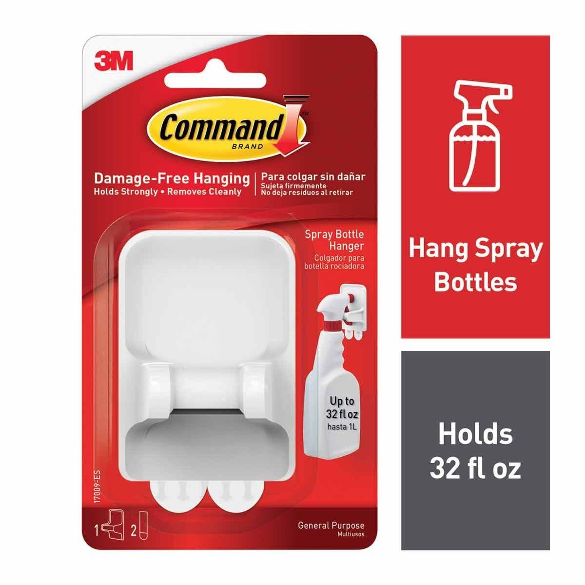 Command Spray Bottle Hanger