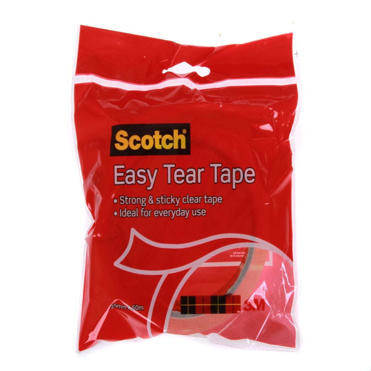Scotch Easy Tear Tape 25mmx50m