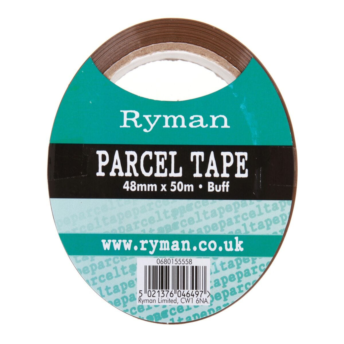 Ryman Parcel Tape 48mmx50m Pack of 6 Buff