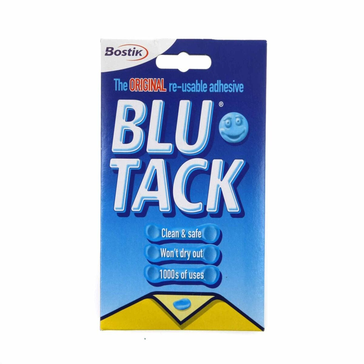 Bostik Blu-Tack Pack of 12 Handy Blue