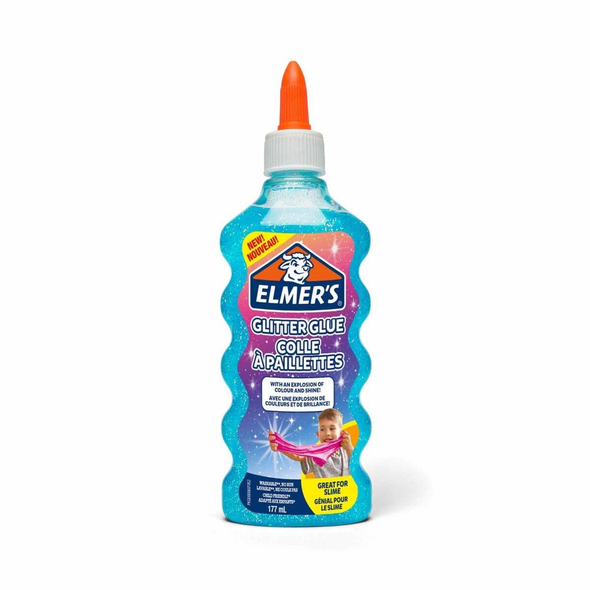 Elmers Glitter Glue 177ml Blue