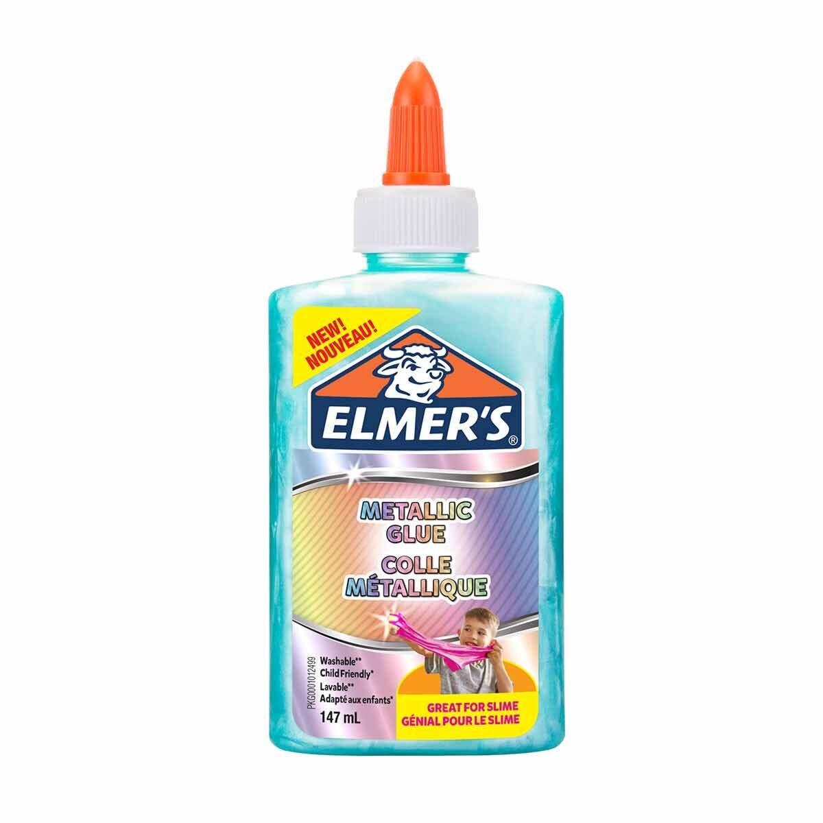 Elmers Metallic Glue 147ml Teal