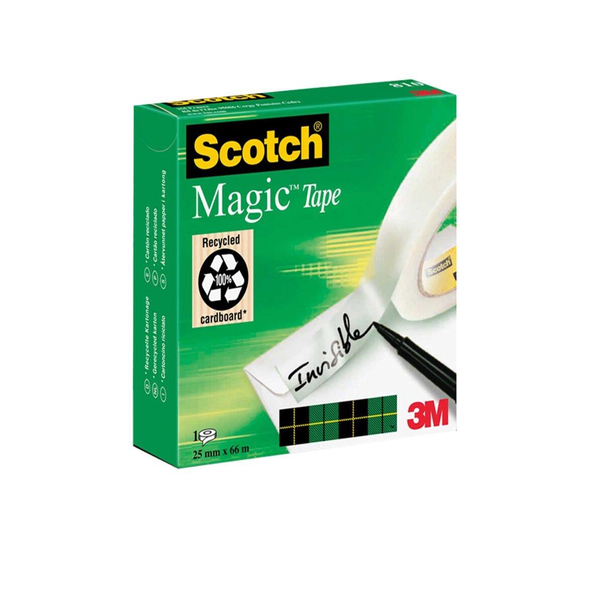 Scotch Magic Tape 25mm x 66m Pack of 9