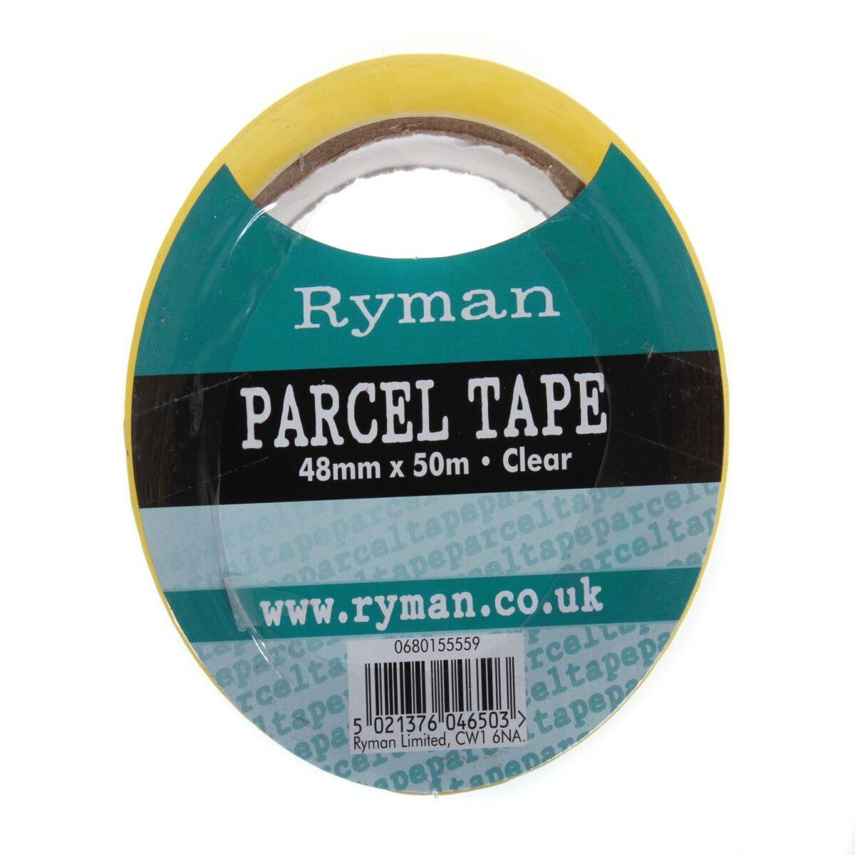 Ryman Parcel Tape 48mmx50m