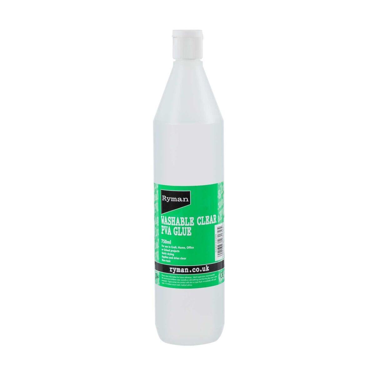 Ryman Clear PVA Glue 750ml