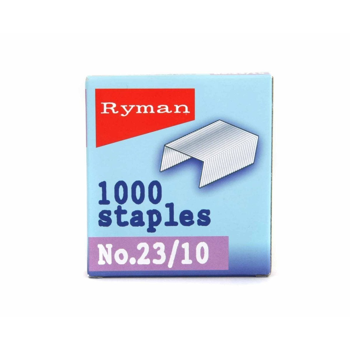 Ryman Staples 23/10mm Pack of 1000