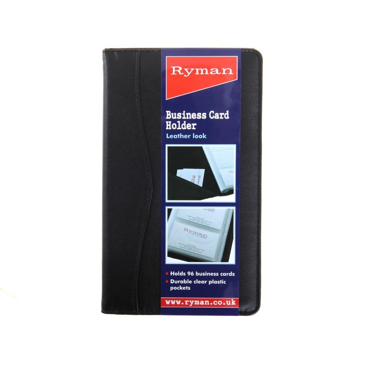 Ryman Business Card Holder 96 Cards