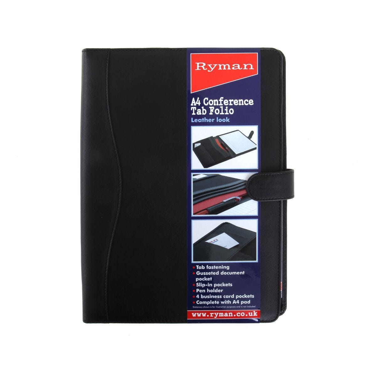 Ryman Conference Folder A4 With Tab Fastener