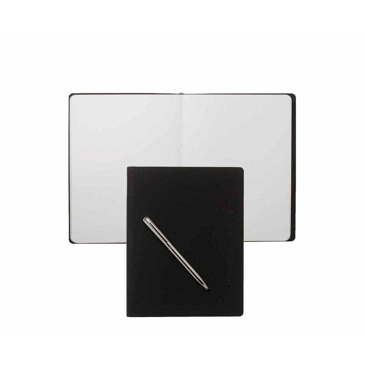 Hugo Boss Sky A5 Notebook and Pen