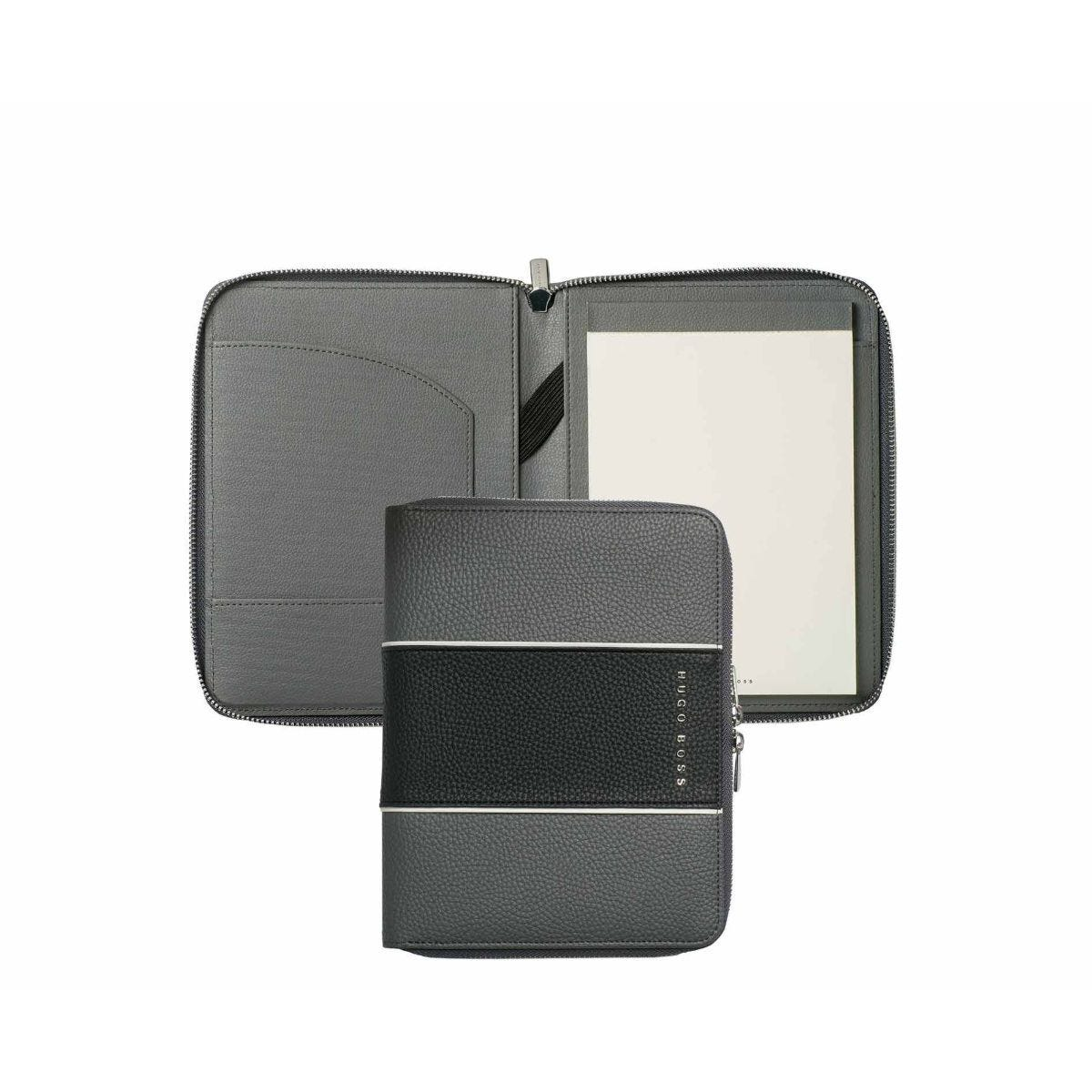Hugo Boss Gear Conference Folder A5 Grey