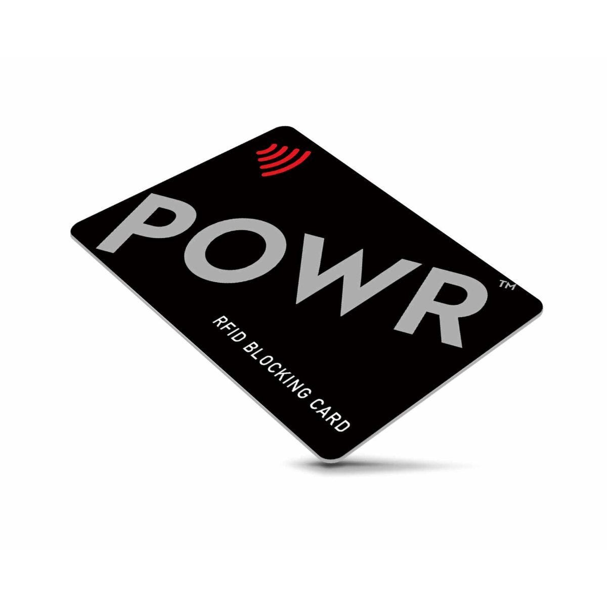 POWR RFID Signal Blocking Card