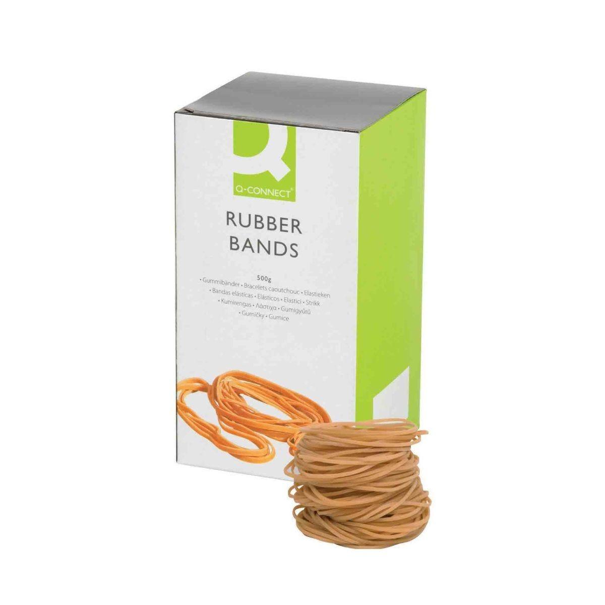Q-Connect Rubber Bands No. 24 152.4 x 1.6mm 500g