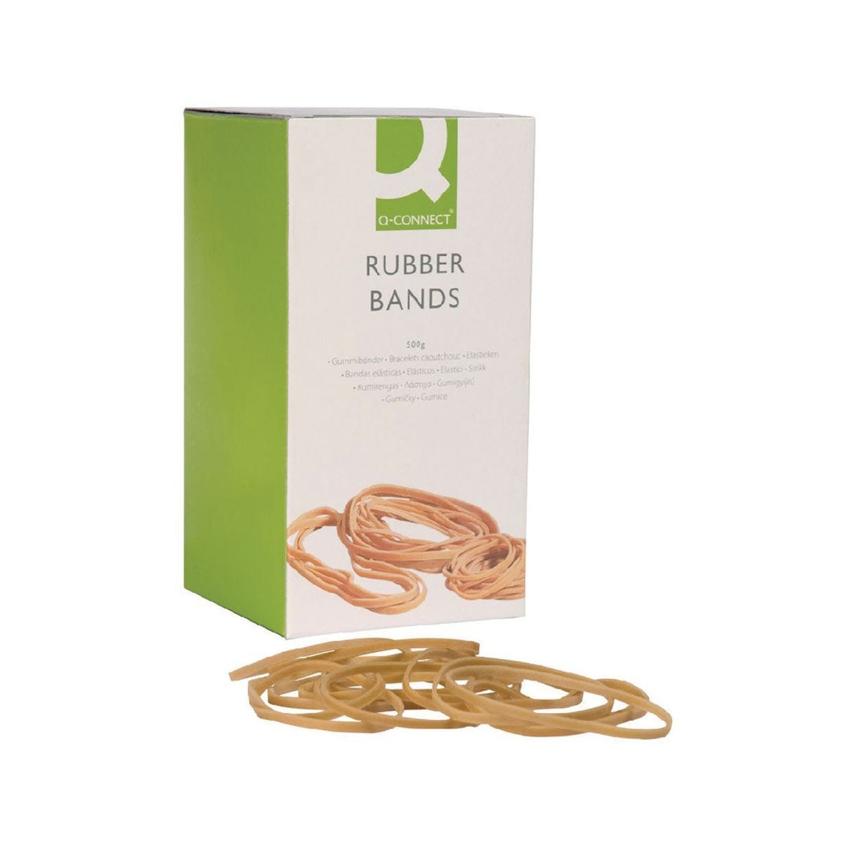 Q-Connect Rubber Bands Number 38 500g