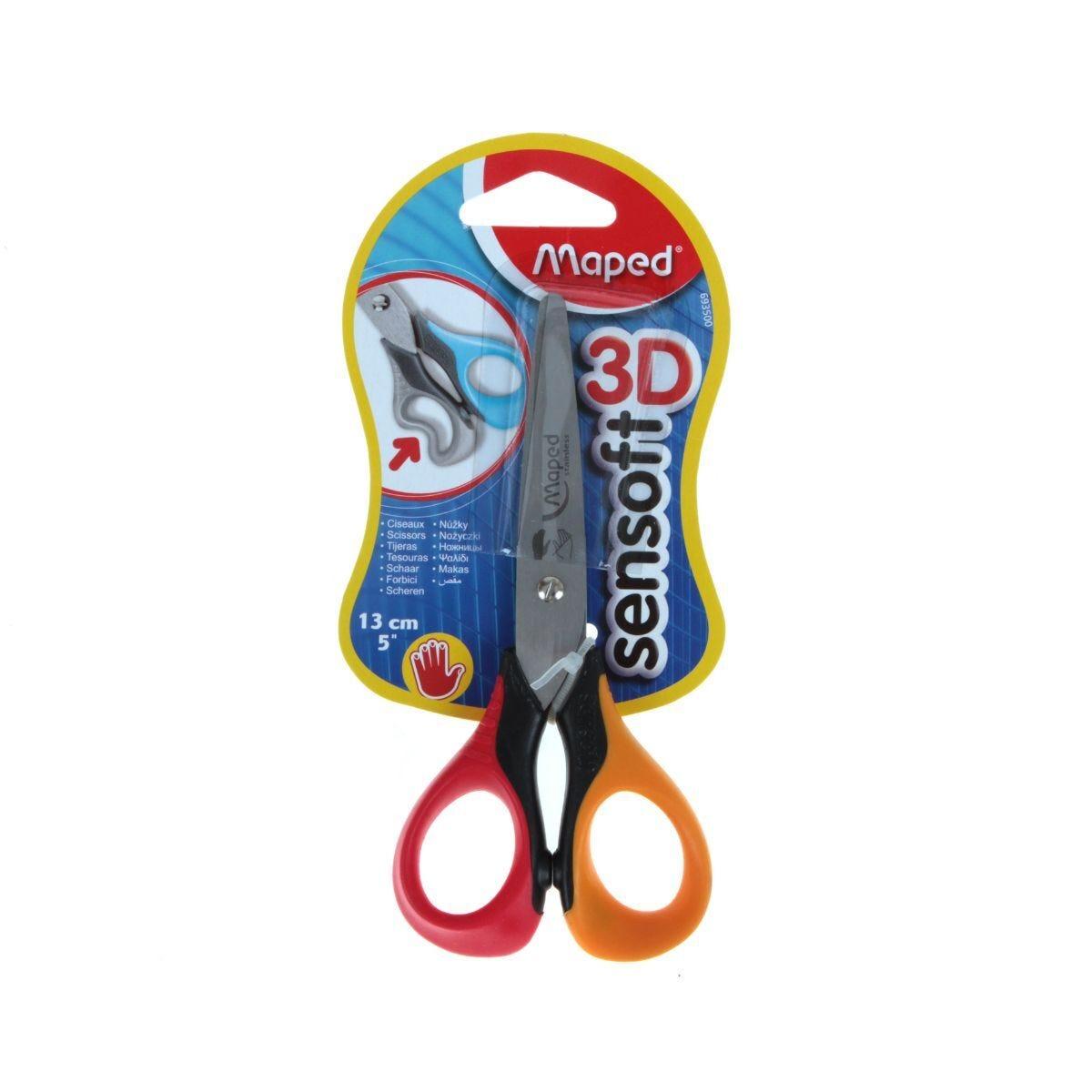 Maped Sensoft 3D Scissors Left Hand 13cm