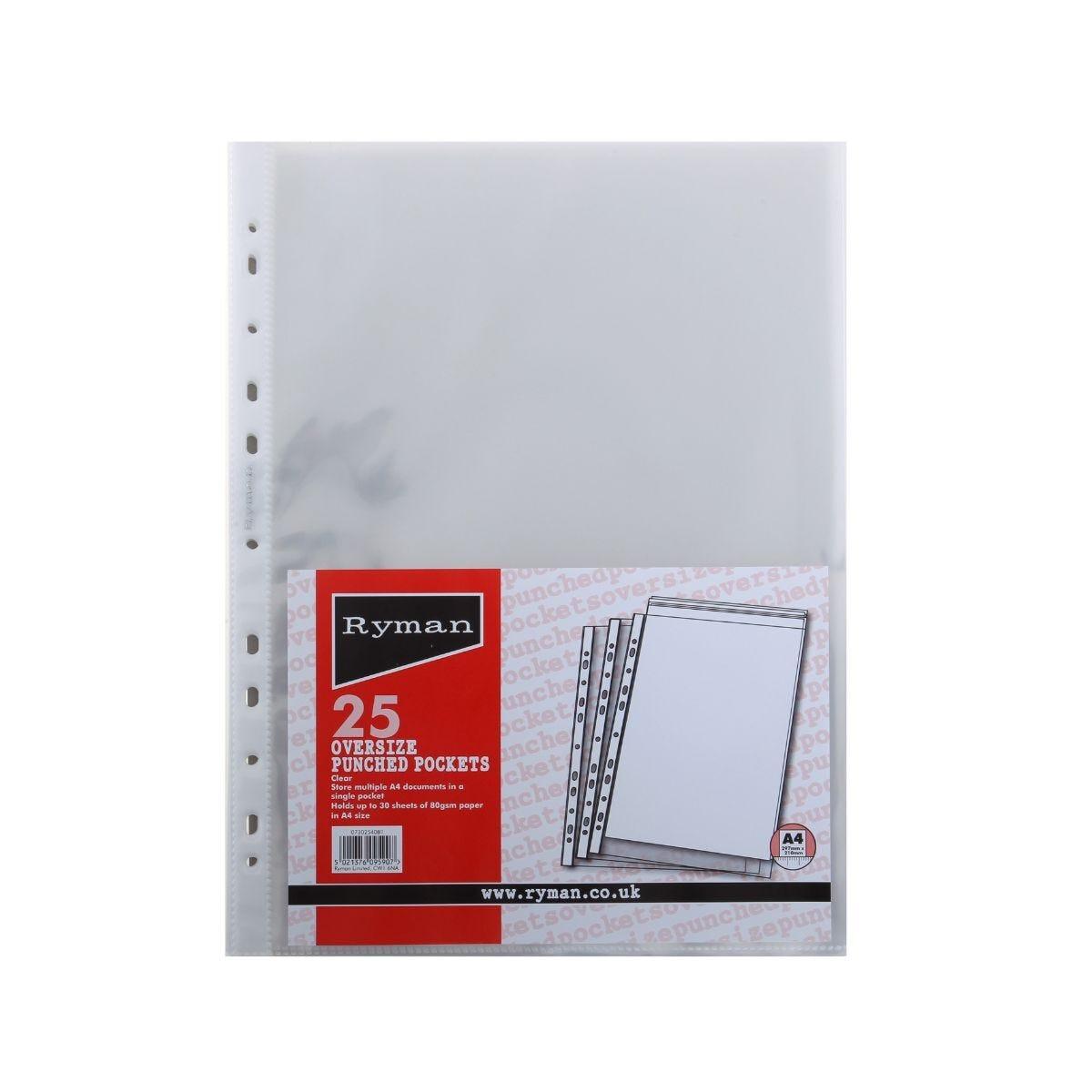 Ryman Oversize Pockets Pack 25