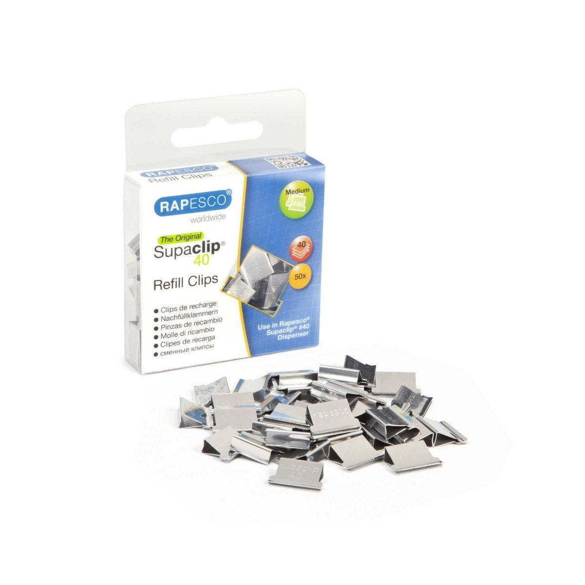 Rapesco Supaclips Pack of 50