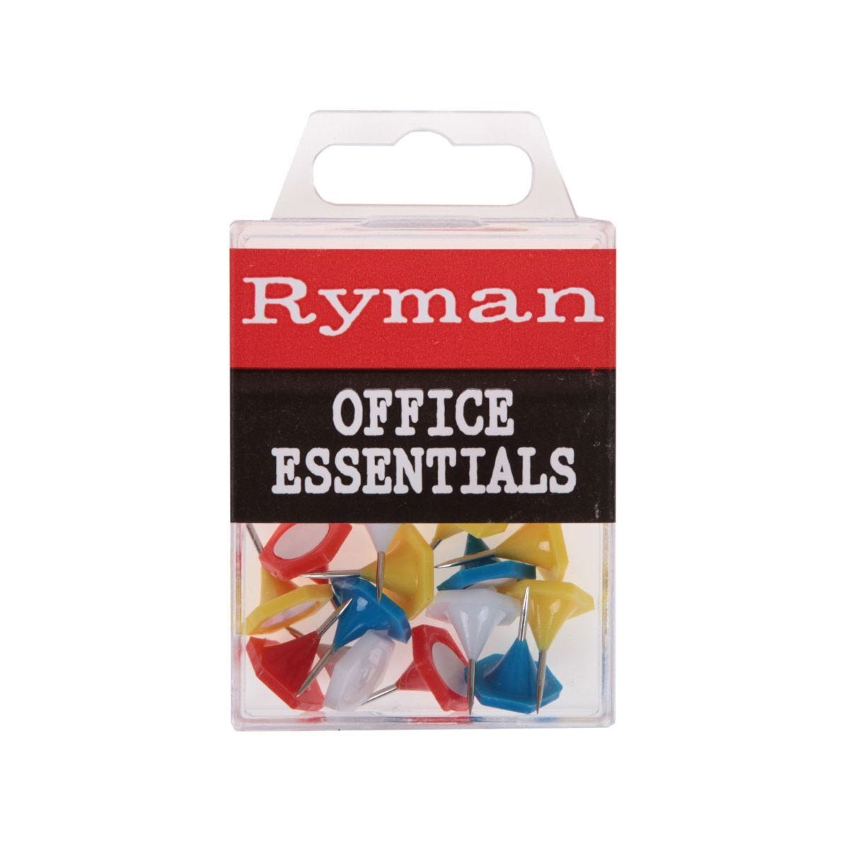 Ryman Indicator Pins Pack of 15 Assorted