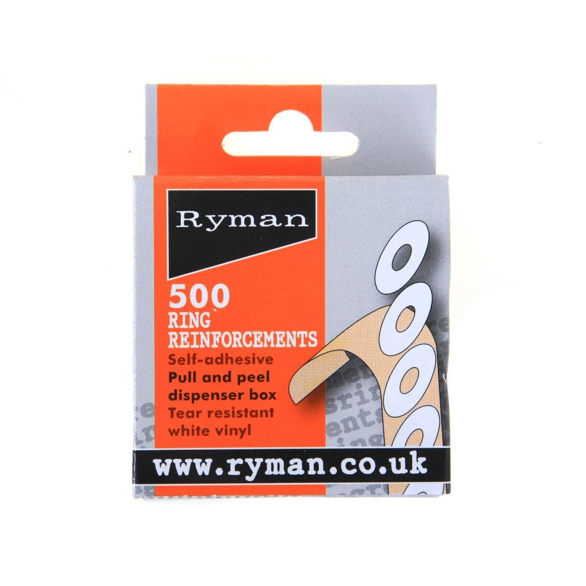Ryman Ring Reinforcements Pack of 500