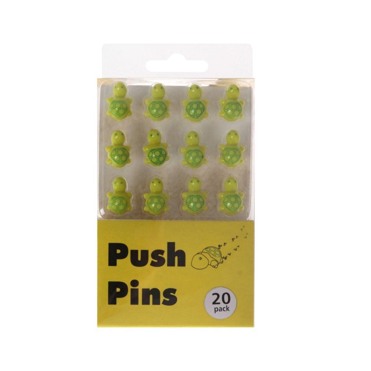 Push Pins Pack of 20 Turtles