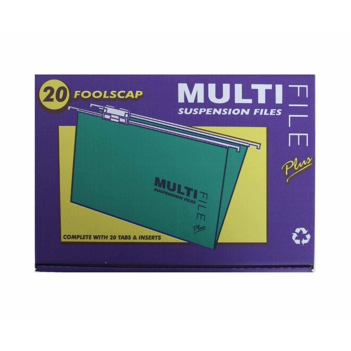 Multifile Suspension Foolscap Box of 20