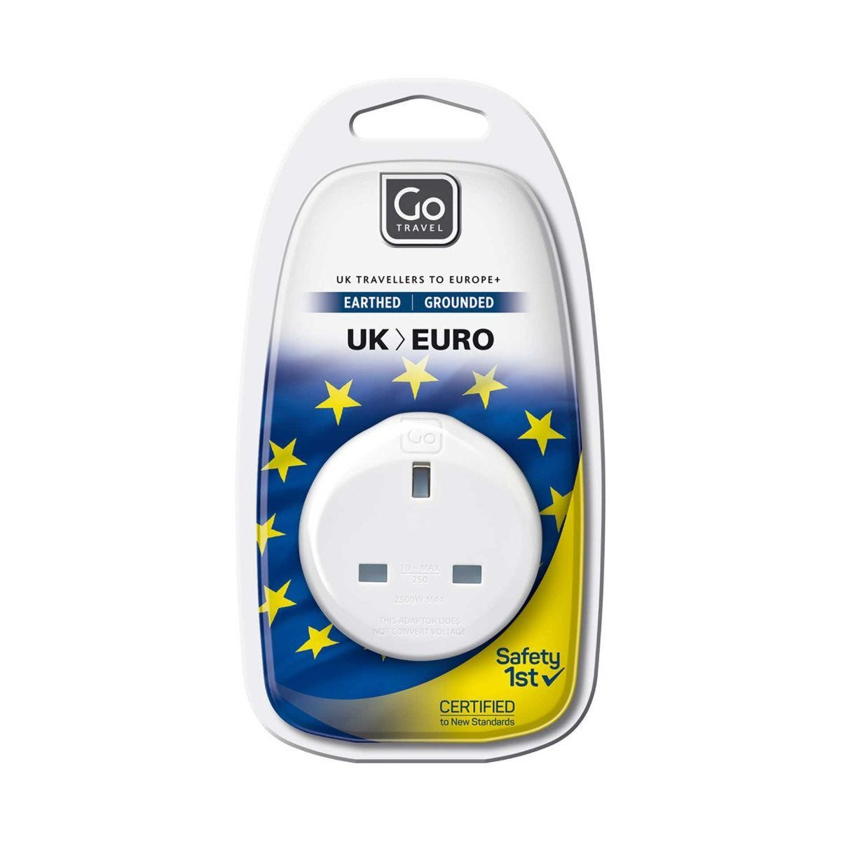 Jack Rogers Continental Adaptor UK to Europe