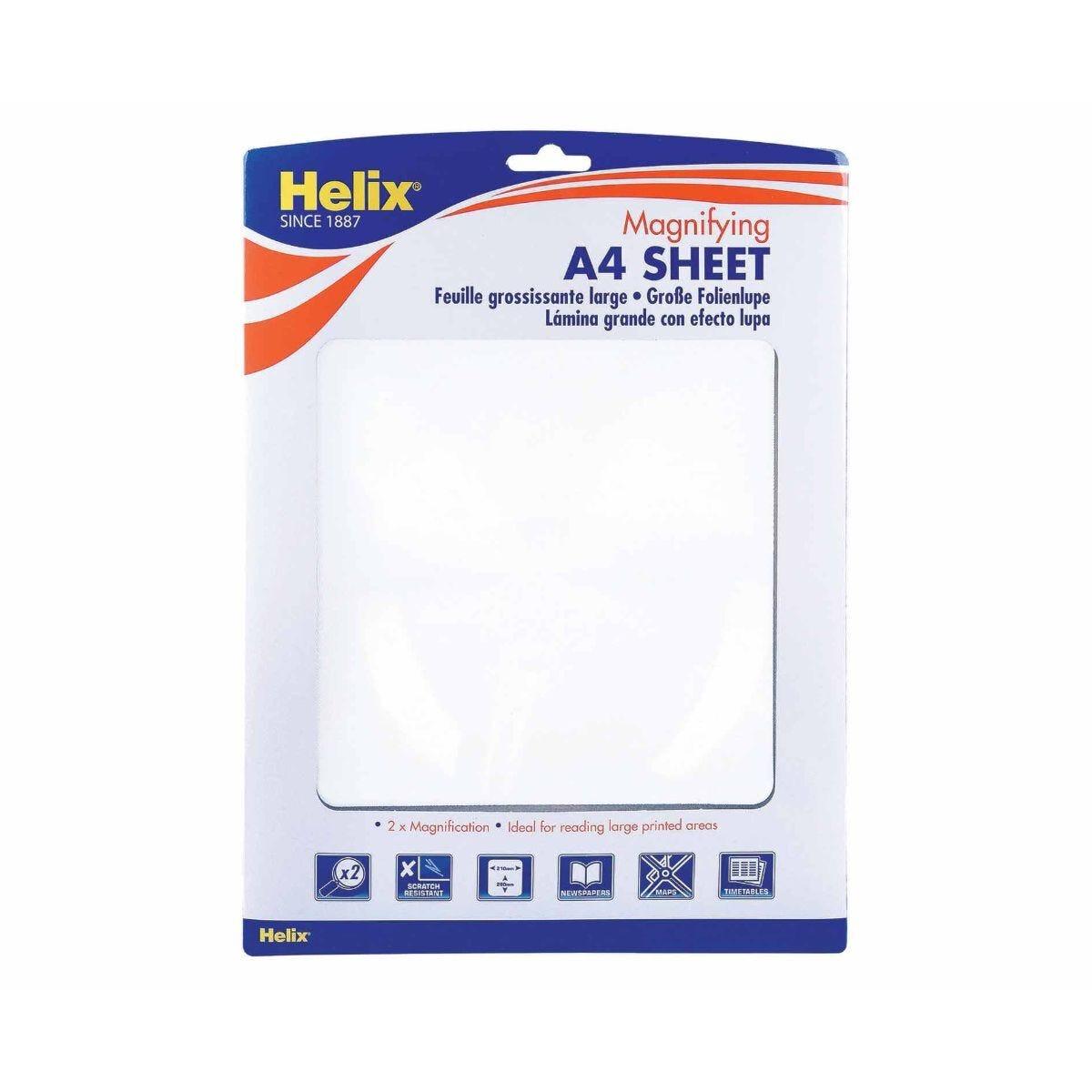Helix Magnifying Sheet Large