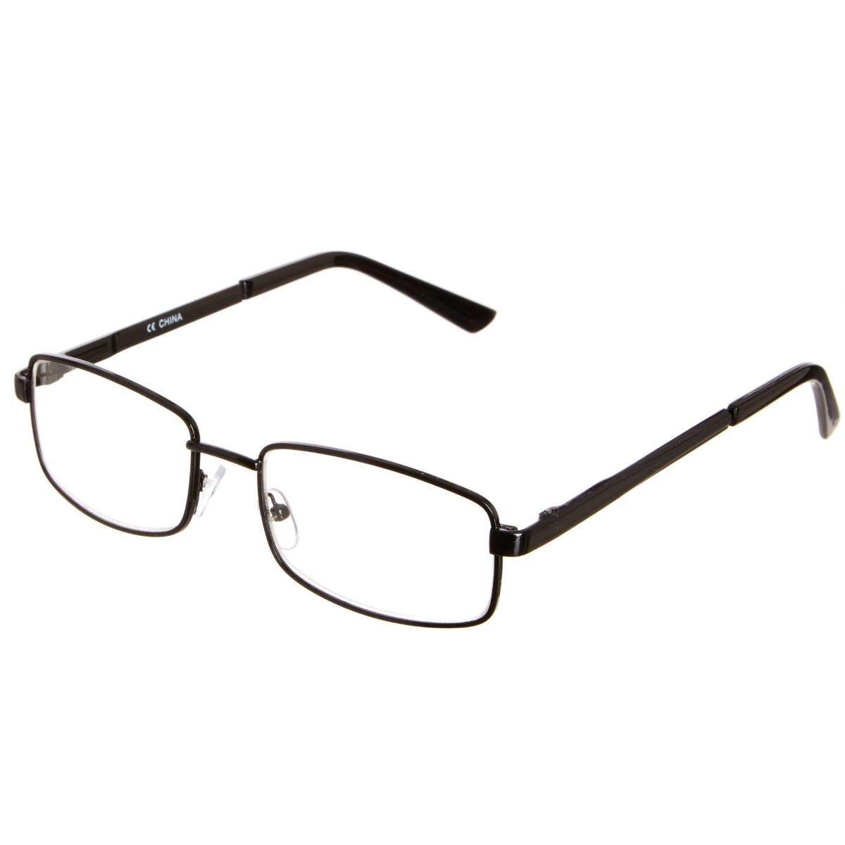 Ryman Reading Glasses + 1.0 Square Metal Frame