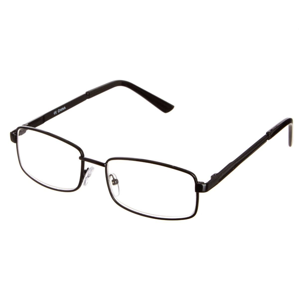 Ryman Reading Glasses + 1.5 Square Metal Frame