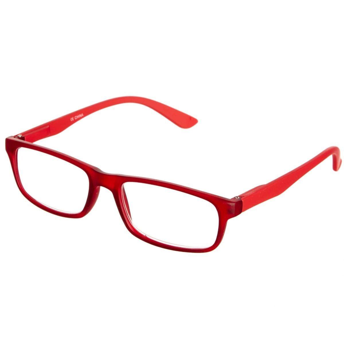 Ryman Reading Glasses + 1.0 Red Plastic Frame