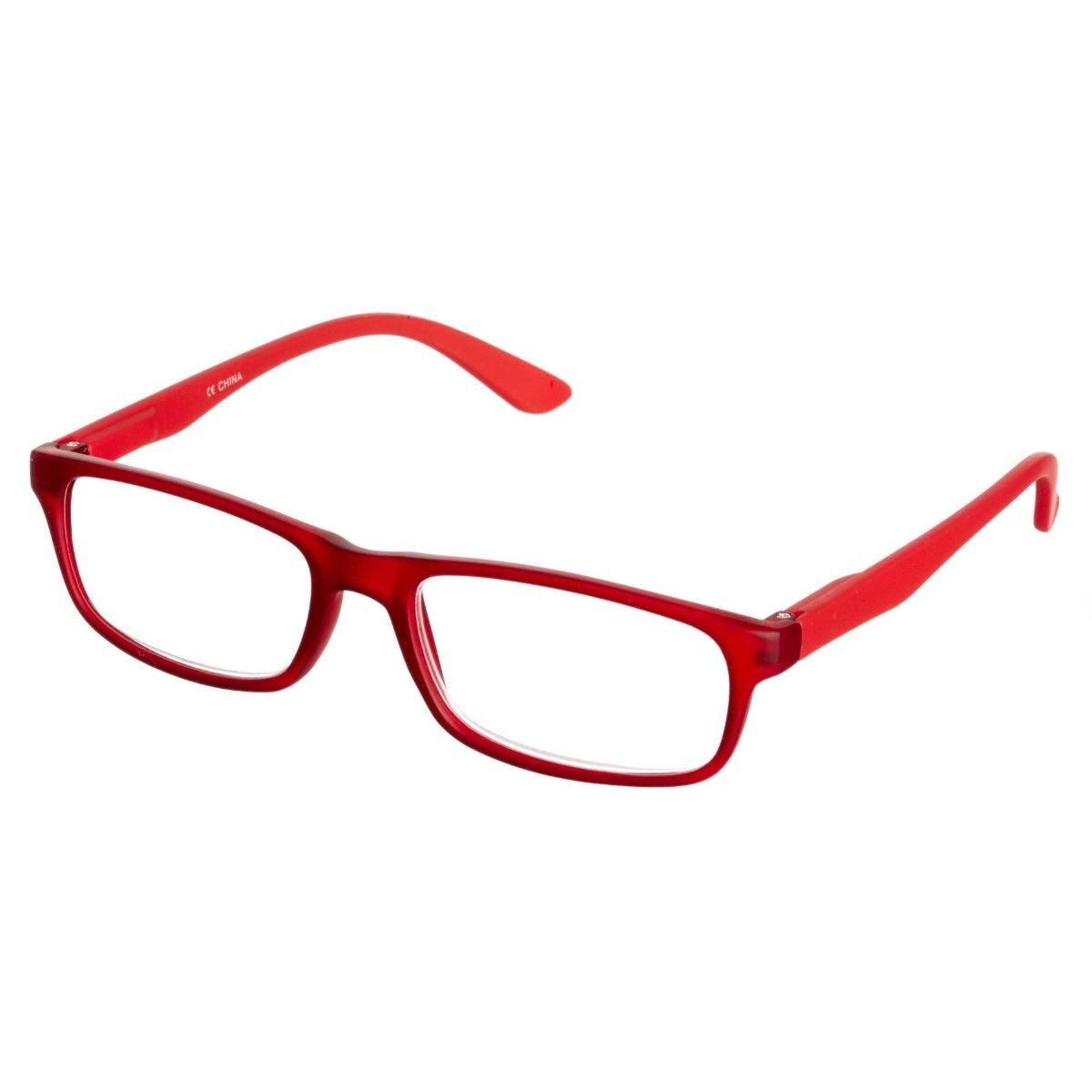 Ryman Reading Glasses + 2.0 Red Plastic Frame