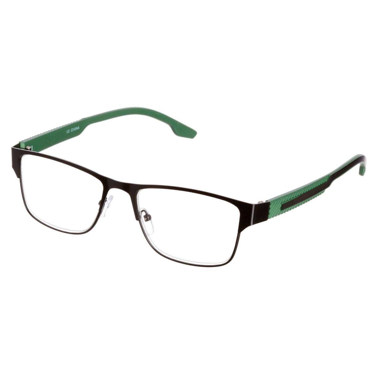 Ryman Reading Glasses + 1.5 Black and Green Frame