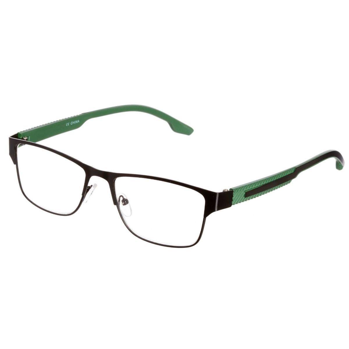 Ryman Reading Glasses + 2.0 Black and Green Frame