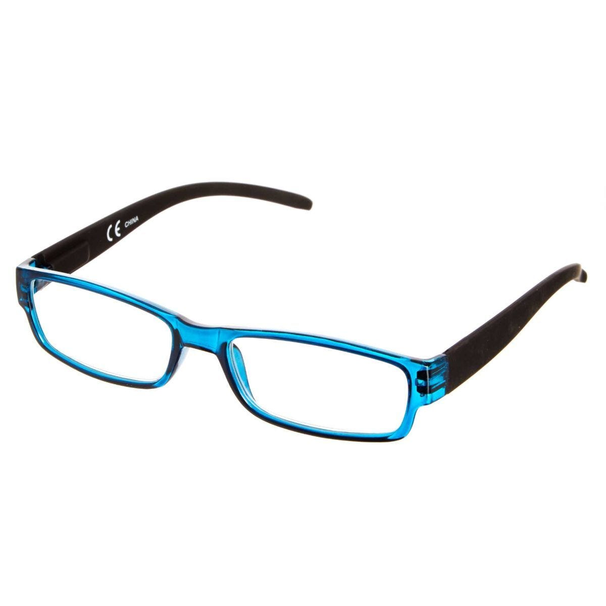 Ryman Reading Glasses + 1.0 Blue Plastic Frame