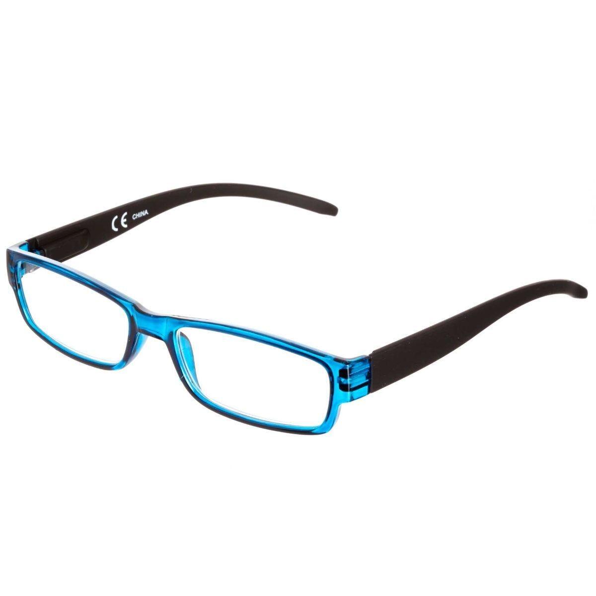 Ryman Reading Glasses + 1.5 Blue Plastic Frame
