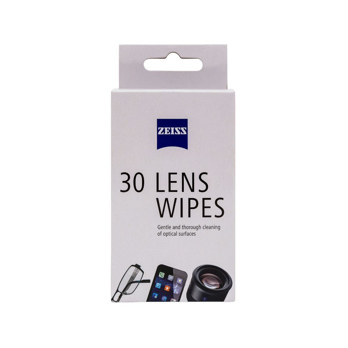 ZEISS Lens Wipes Pack of 30