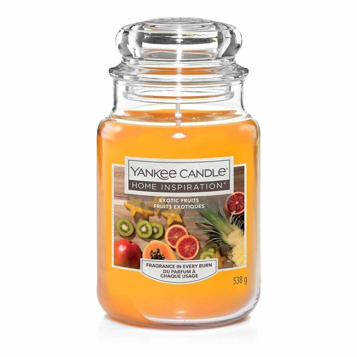 Yankee Candle Home Inspiration Large Jar Exotic Fruits