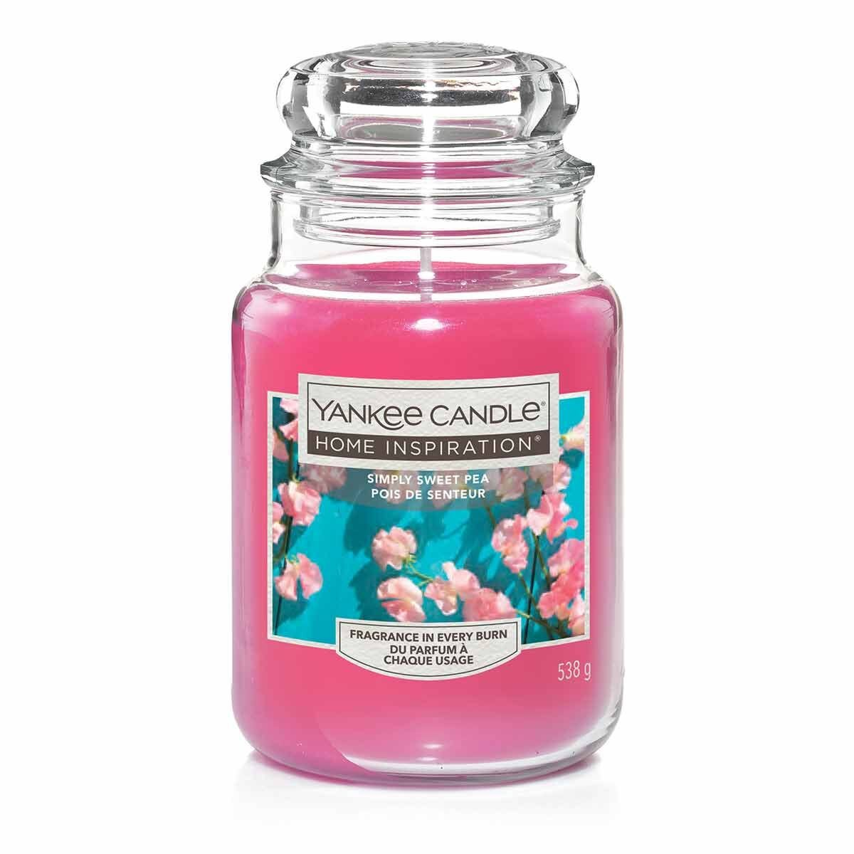 Yankee Candle Home Inspiration Large Jar Simply Sweet Pea