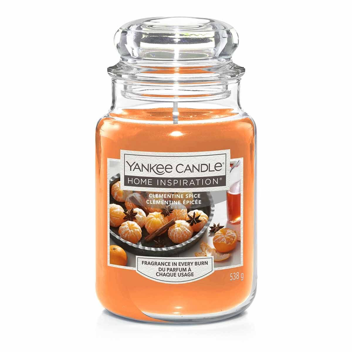 Yankee Candle Large Jar Clementine Spice