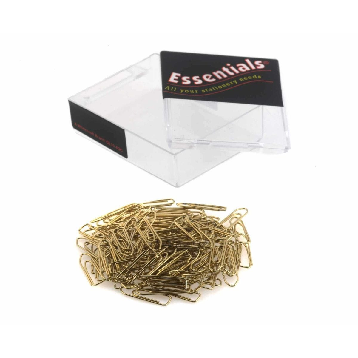 Ryman  Paperclips Brass Effect Pack of 1000