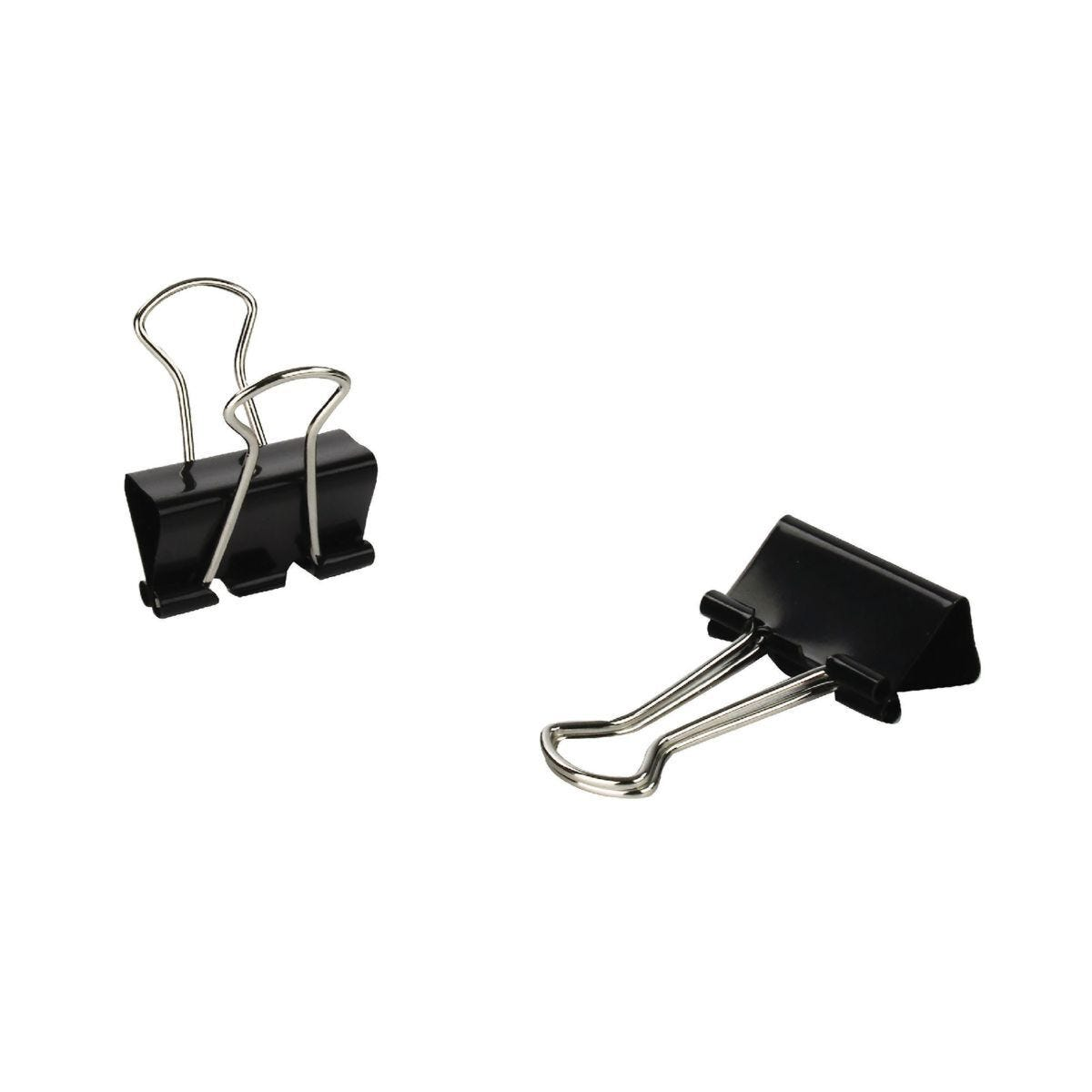 Q-Connect Foldback Clip 24mm Pack of 10