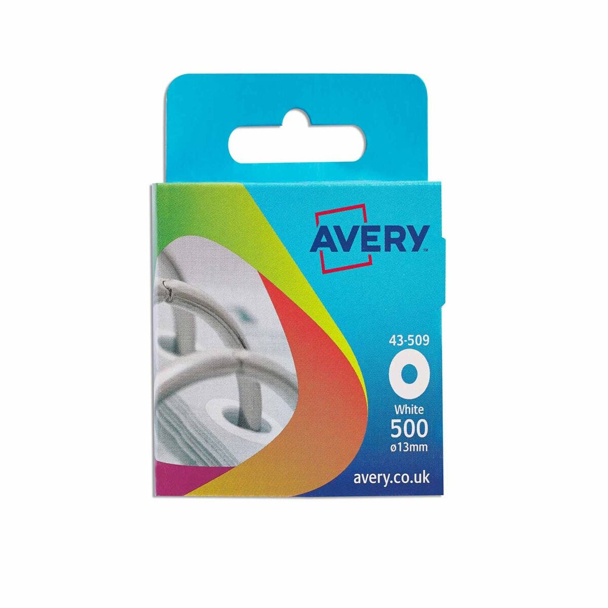 Avery Reinforcement Rings 13mm 43-509 500 Per Pack