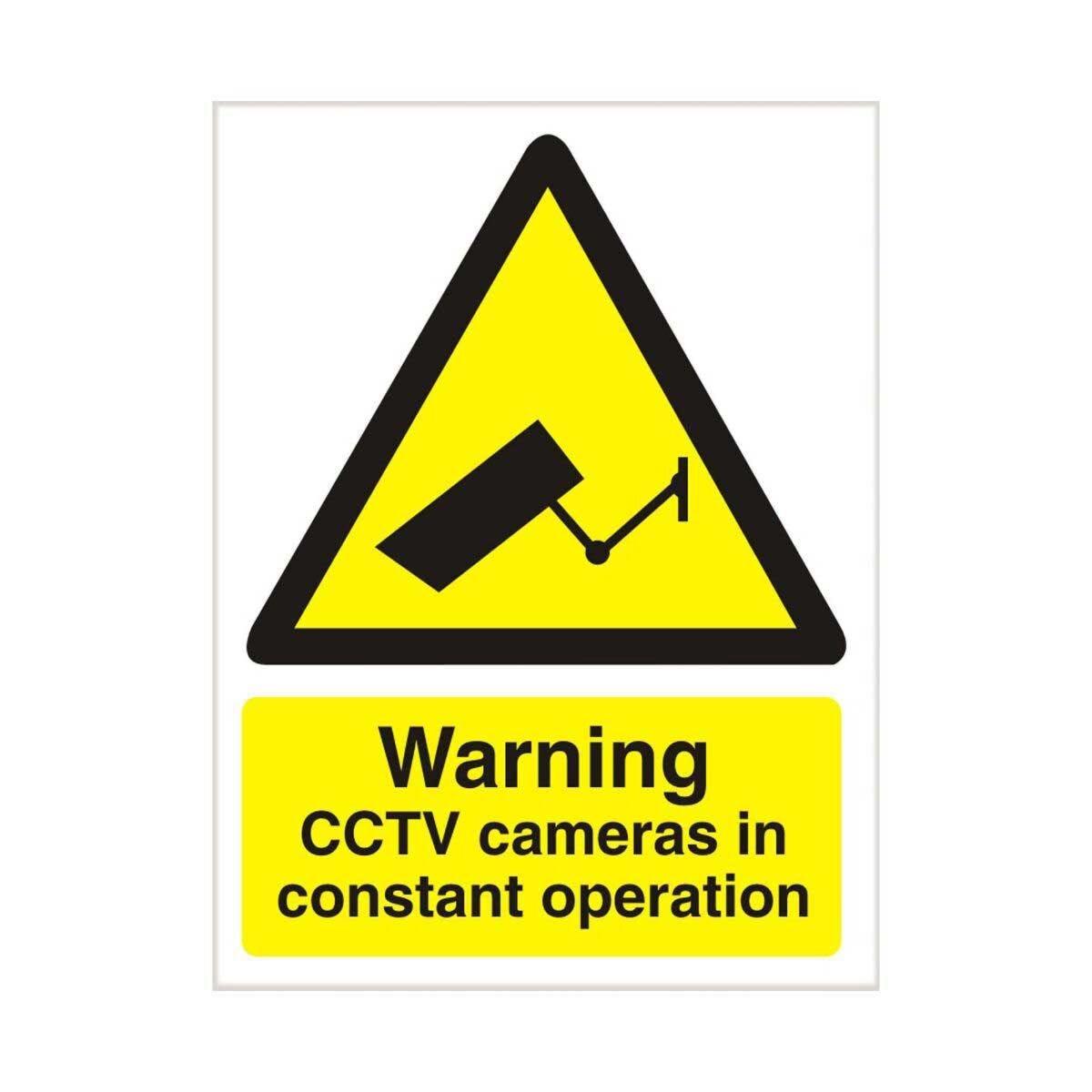 Warning CCTV In Operation 150 x 200mm