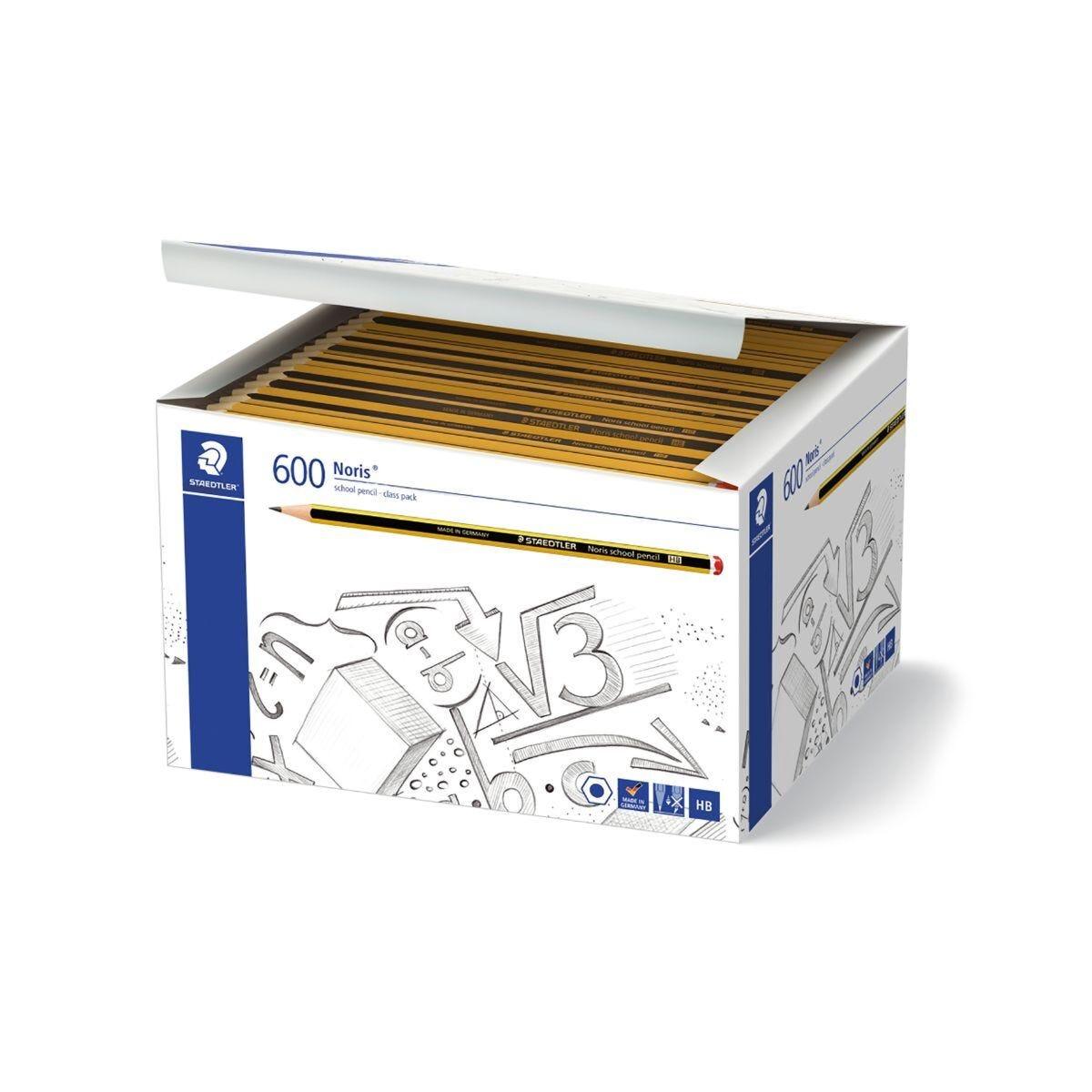 Staedtler Noris Pencils HB Refill Pack of 600
