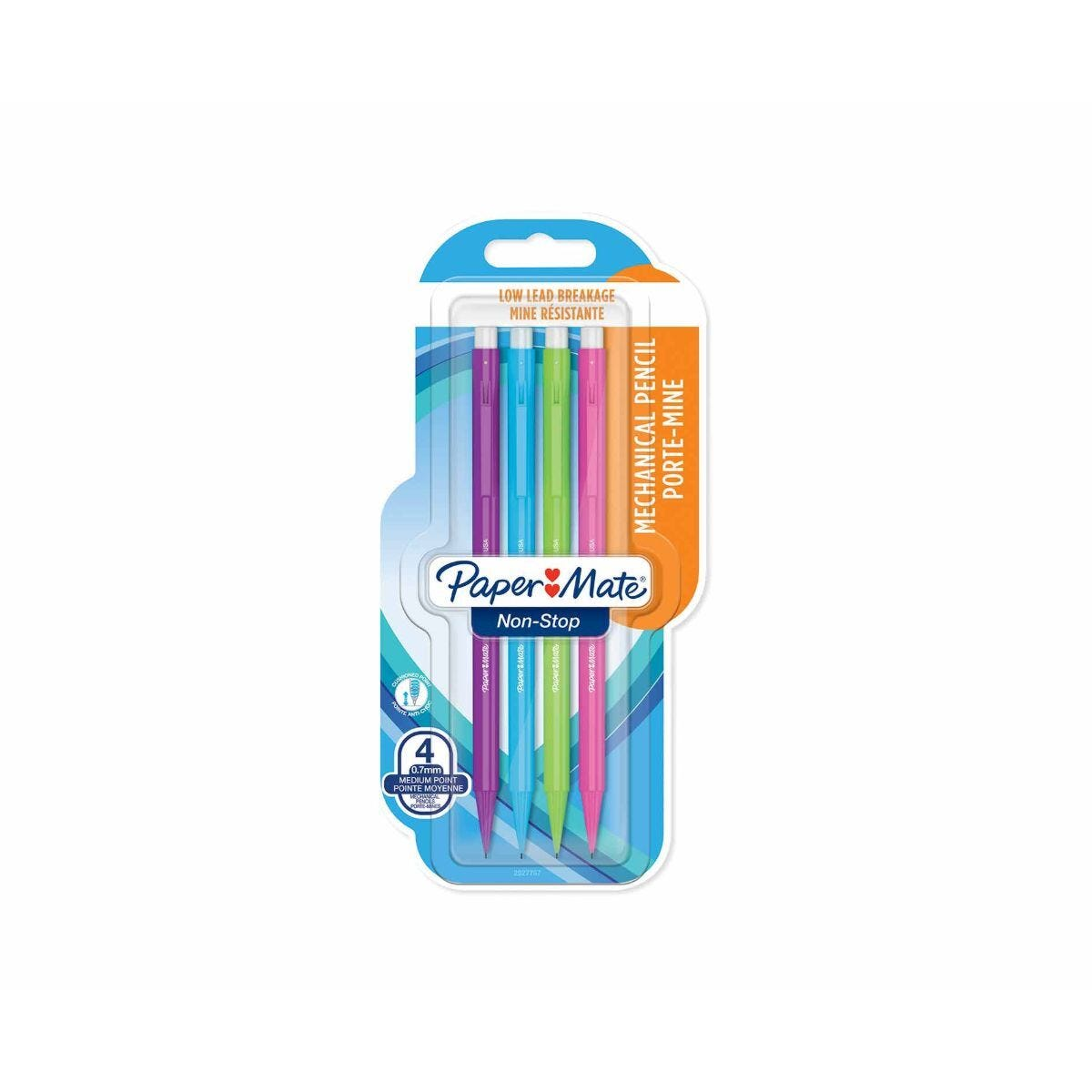 Paper Mate Mechanical Pencils 0.7mm  Pack of 4