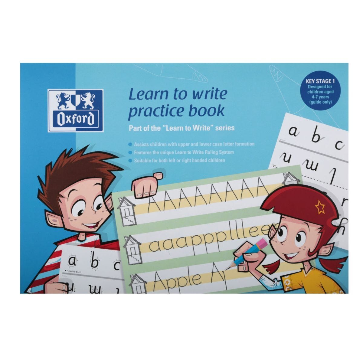 Learn to Write Oxford Notebook A4 32Pg 80G