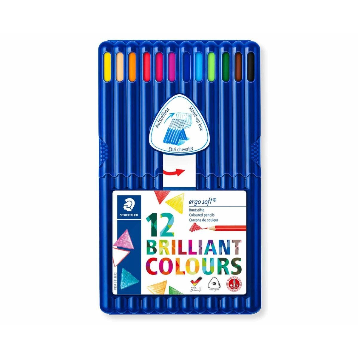 Staedtler Ergosoft Colouring Pencils  Pack of 12