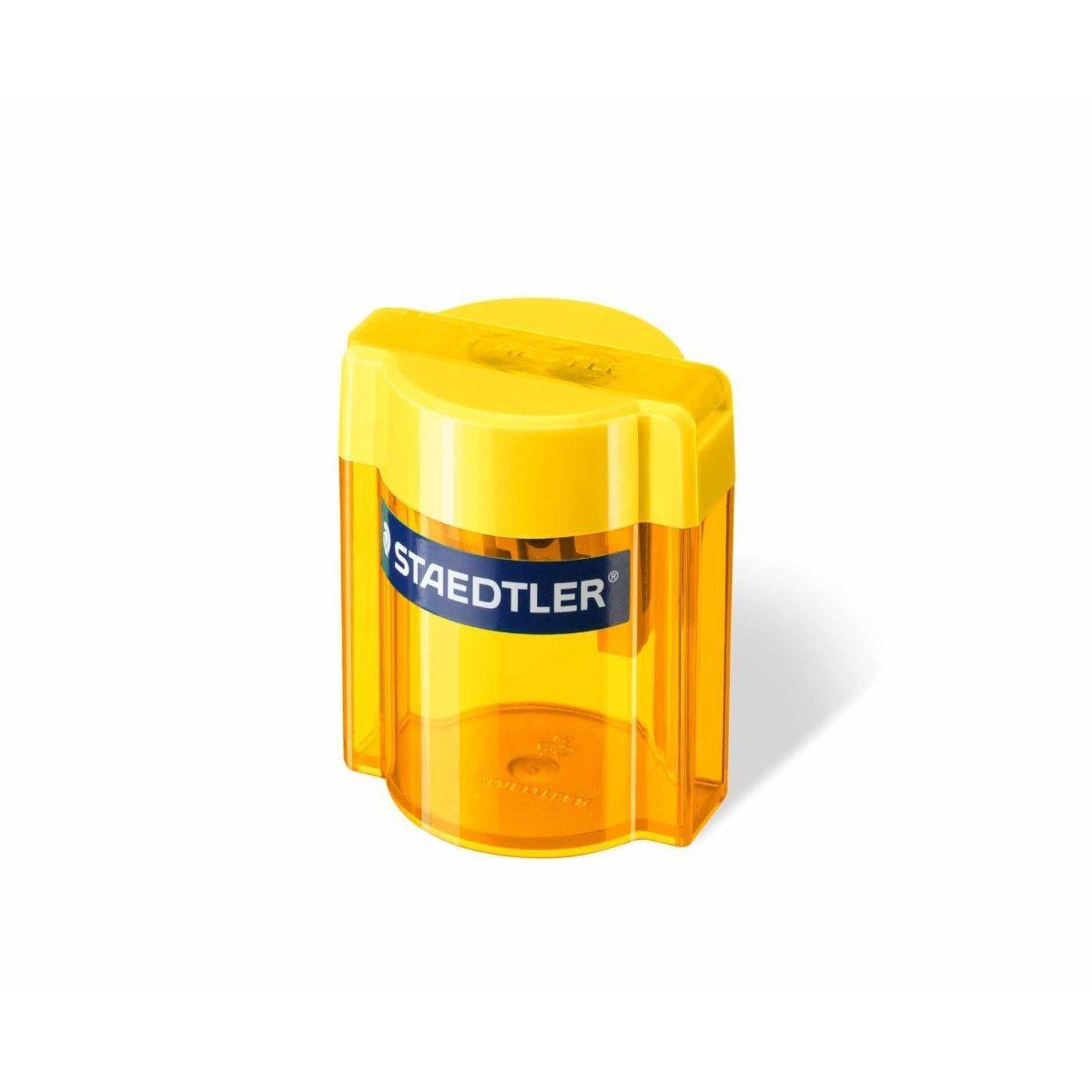 Staedtler Jumbo Canister Pencil Sharpener Assorted